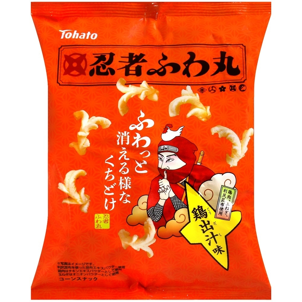 Tohato東鳩 忍者玉米脆果-雞汁風味(60g)