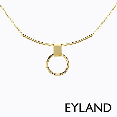 Eyland英國倫敦 ERIN 鍍金吊墜頸鍊項鍊