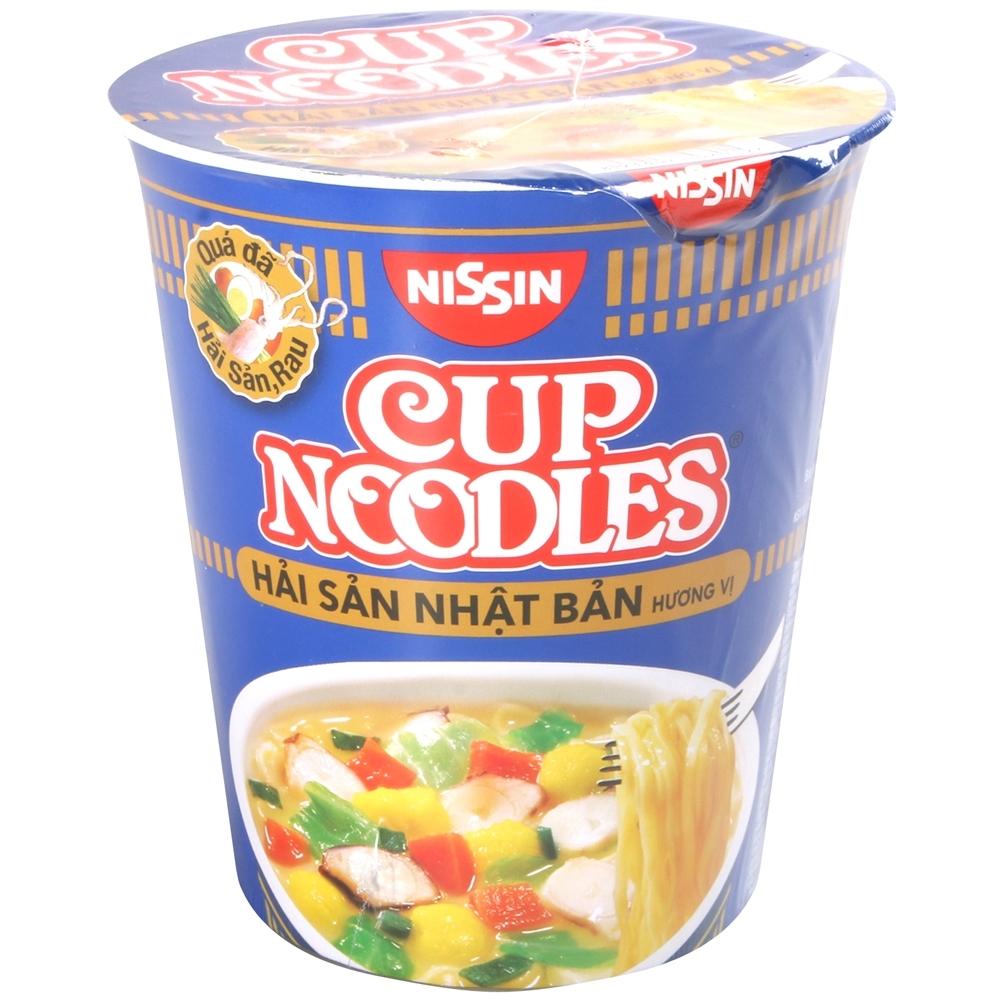 Nissin 日式海鮮風味杯麵 (67g)