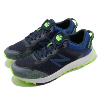 New Balance 慢跑鞋 Fresh Foam 運動 男鞋 紐巴倫 輕量 透氣 舒適 避震 路跑 藍 綠 MTARISY12E