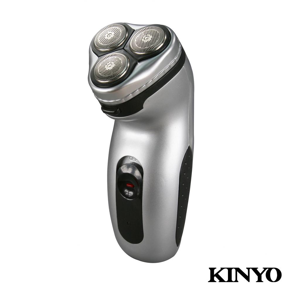 KINYO三刀頭充電式刮鬍刀KS315