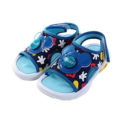 迪士尼米奇閃燈涼鞋 sk0780 魔法Baby