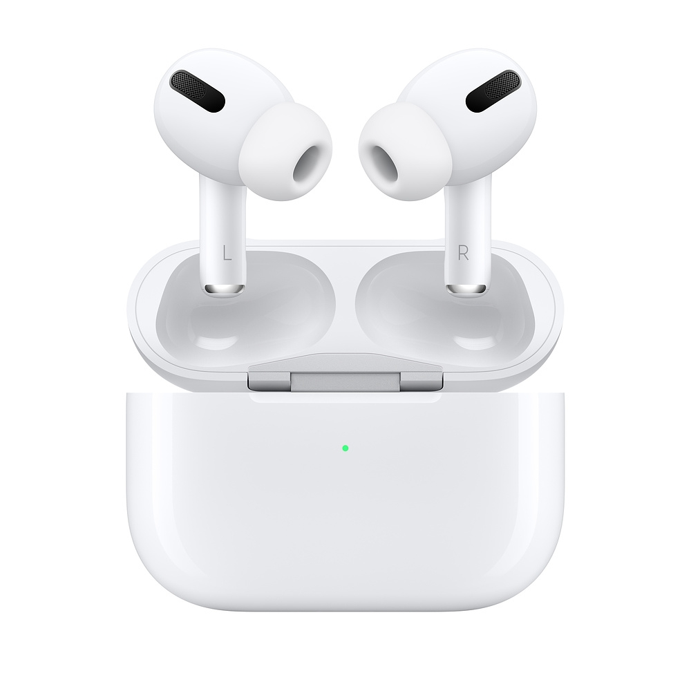 (活動) Apple AirPods Pro 搭配無線充電盒(MWP22TA/A)-白色