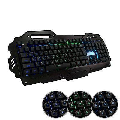 黑客 AK-7000 多媒體背光電競鍵盤(19鍵不衝突)