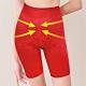 Clany可蘭霓 台灣製3段提拉俏臀四角 M-L 塑身褲 熱情紅 product thumbnail 1