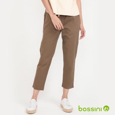 bossini女裝-輕鬆長褲03卡其