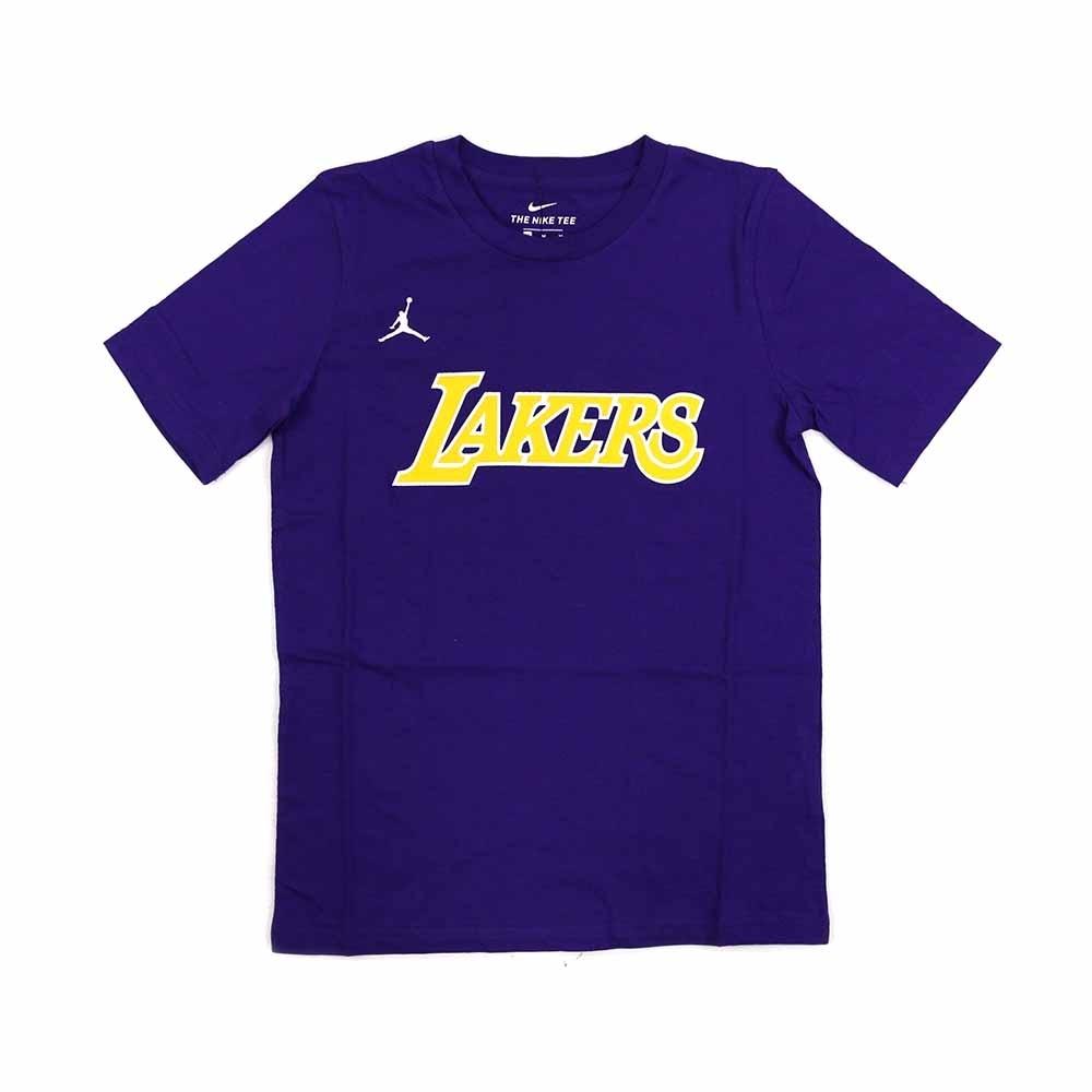 NIKE NBA Statement Edition 青少年 短袖T恤 湖人隊