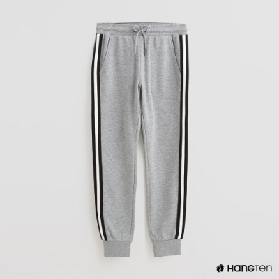 Hang Ten - 女裝 - 側身線條綁帶休閒長褲 - 灰