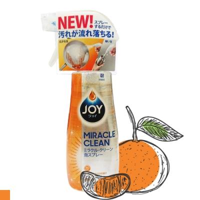 日本 P&G JOY 奇蹟 泡沫 洗碗 噴霧 300ml 柑橘味