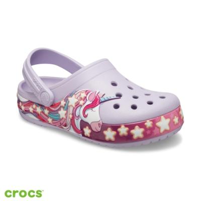 Crocs卡駱馳 (童鞋) 趣味學院獨角獸小克駱格 206270-530