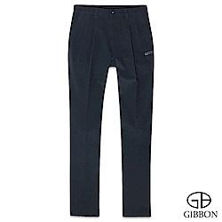 GIBBON 四面彈力防水保暖圖騰長褲‧黑灰