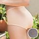 華歌爾-花紗天絲 M-3L中高腰三角內褲(深灰) 絕佳吸濕性 光滑觸感 product thumbnail 1
