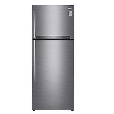 LG樂金 438公升直驅變頻上下門冰箱 GI-HL450SV 星辰銀