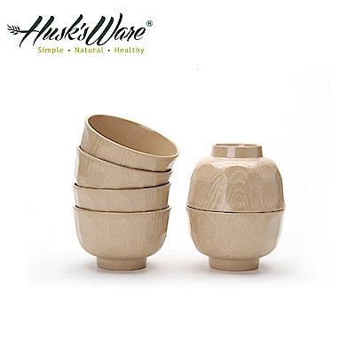 美國Husk's ware 稻殼天然無毒環保日式餐碗(6入)