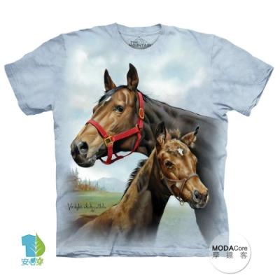 摩達客-美國The Mountain 希望之馬 兒童版純棉環保短袖T恤