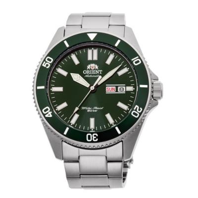 ORIENT 東方錶 深海潛龍 機械錶(RA-AA0914E)綠水鬼/44mm