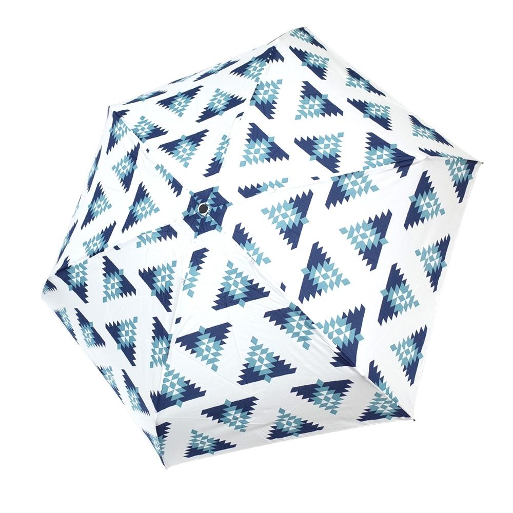 HUS 冰雪聖誕抗UV省力自動傘