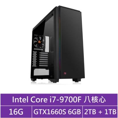技嘉B365平台[冰刃海神]i7八核GTX1660S獨顯電玩機