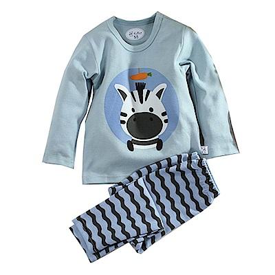 斑馬印花彈性布保暖套裝 k60833 魔法Baby