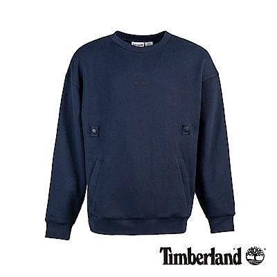 Timberland 男款深寶石藍套頭衛衣|A1XS6