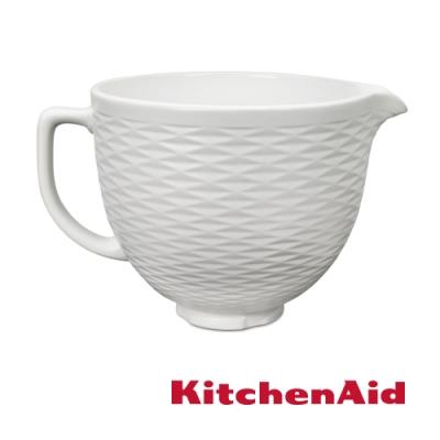 KitchenAid 5Q陶瓷攪拌盆: 白巧克力