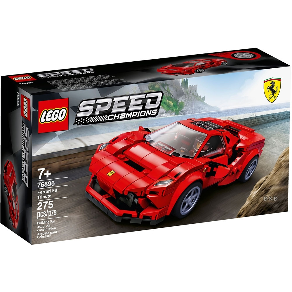 樂高LEGO Speed Champions系列 - LT76895 Ferrari F8
