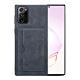 三星 Galaxy Note 20 Ultra 復古 插卡手機皮套 手機殼 保護殼 暗灰款 (Samsung Note 20 Ultra手機殼 Note 20 Ultra保護殼) product thumbnail 1