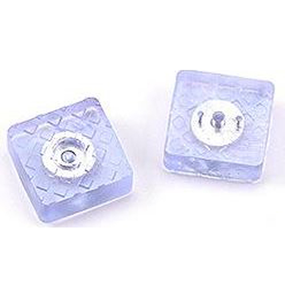 HA007 (20入) 方形透明止滑腳墊/矽膠墊/桌腳墊/櫃子腳墊 (附螺絲)