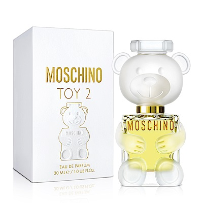 MOSCHINO 熊芯未泯2女性淡香精30ml-送品牌小香