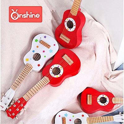 經典木玩 兒童樂器烏克麗麗玩具(兒童樂器)(36m+)