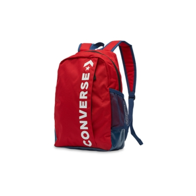 CONVERSE LOGO後背包-10008286-A19 紅色