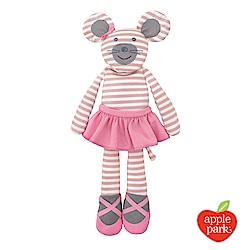 美國 Apple Park 農場好朋友系列 有機棉安撫玩偶 -芭蕾鼠娘