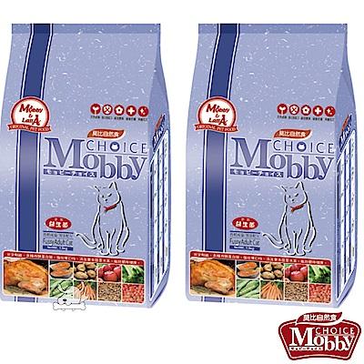 Mobby 莫比 挑嘴成貓饕客 配方飼料 3公斤 X 2包