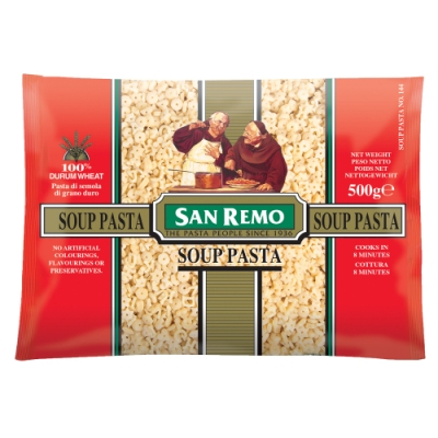 San Remo聖雷蒙 趣味符號義大利麵(500g)