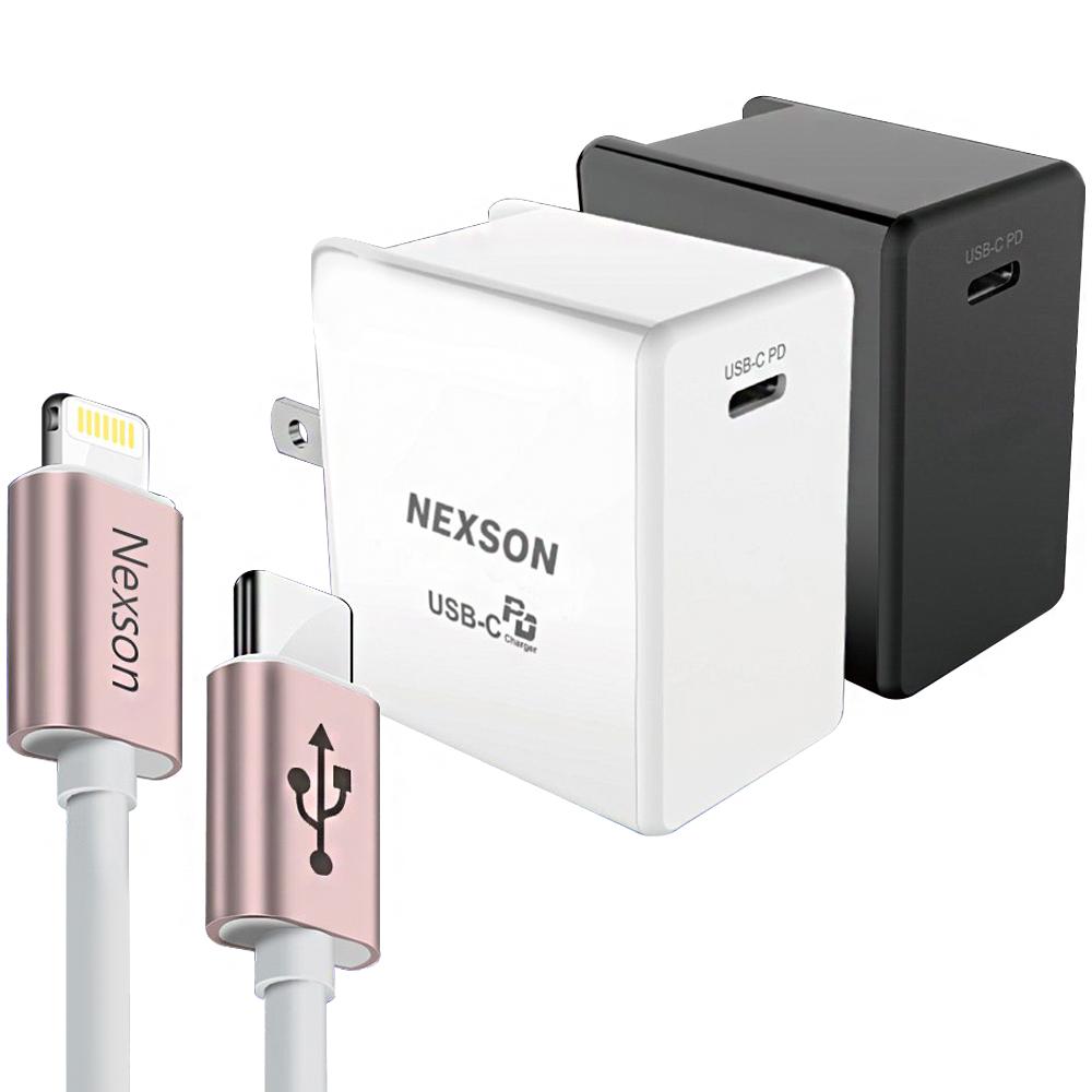 NEXSON iPhone PD閃充-認證MFI C to Lightning玫