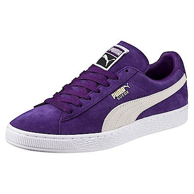 PUMA-SuedeClassic+復古籃球鞋-靛紫色