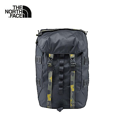 The North Face北面灰色戶外通用雙肩背包|3KUS03B