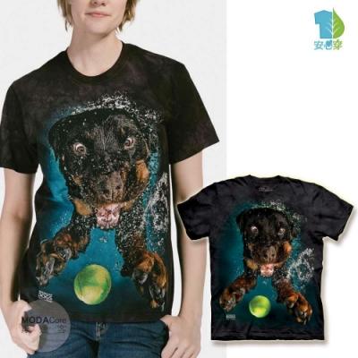 摩達客-美國The Mountain水中羅威那純棉環保中性短袖T恤