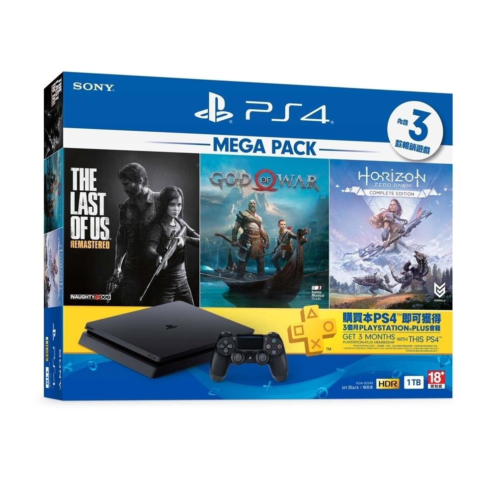 PlayStation 4 MEGA PACK 同捆組 1
