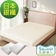 Sonmil乳膠床墊 雙人5尺5m乳膠床墊+乳膠枕(2入)超值組-銀纖維永久殺菌除臭型 product thumbnail 1
