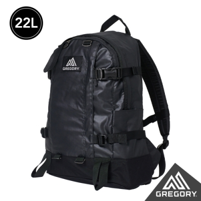 Gregory 22L ALL DAY V2.1 後背包 亮漆黑