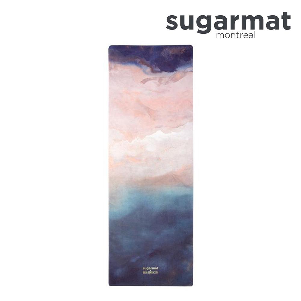 加拿大Sugarmat 麂皮絨天然橡膠瑜珈墊(3.0mm) 聖海倫娜島暈染 Saint Helena