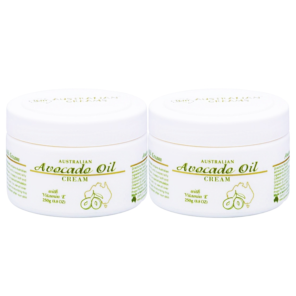 G&M Avocado Oil Cream 酪梨精油乳霜 250g2入+隨機100g1入
