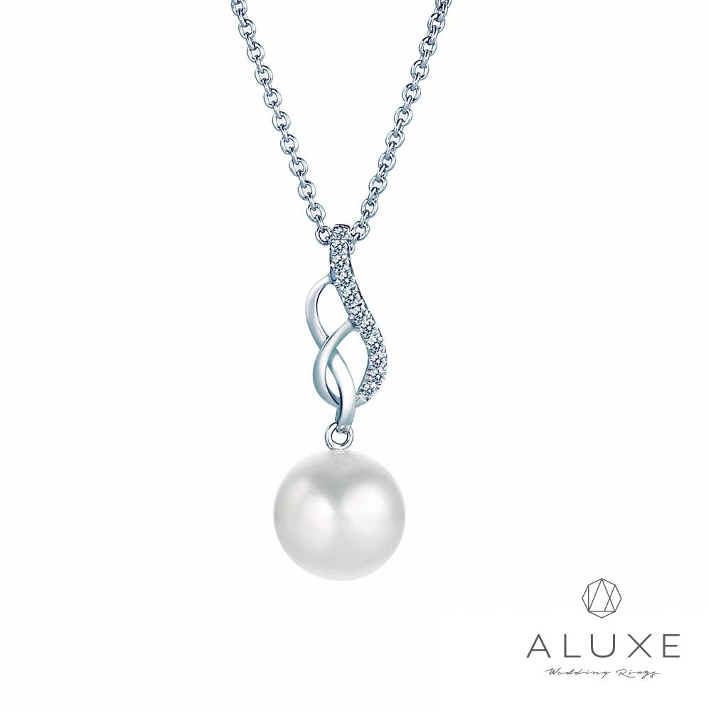 A-LUXE 亞立詩 寵愛系列8-8.5mm 天然淡水養珠珍珠項鍊