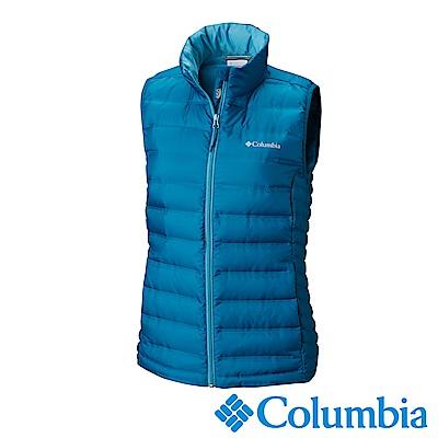 Columbia 哥倫比亞 女款-羽絨背心-墨藍色 UWR00050IB