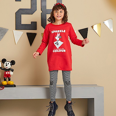 Disney 米奇系列閃亮棉褲(2色可選)