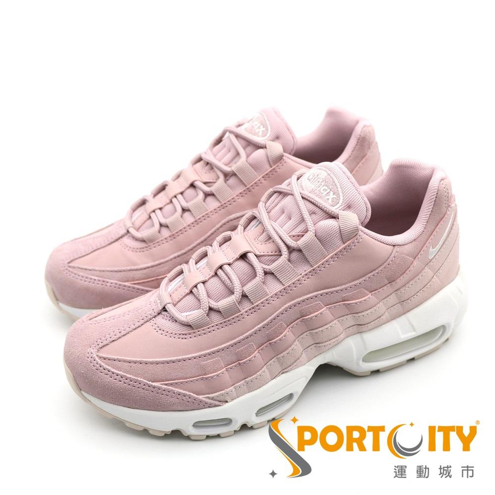 NIKE AIR MAX 95 PRM 女休閒鞋 粉紅-807443503