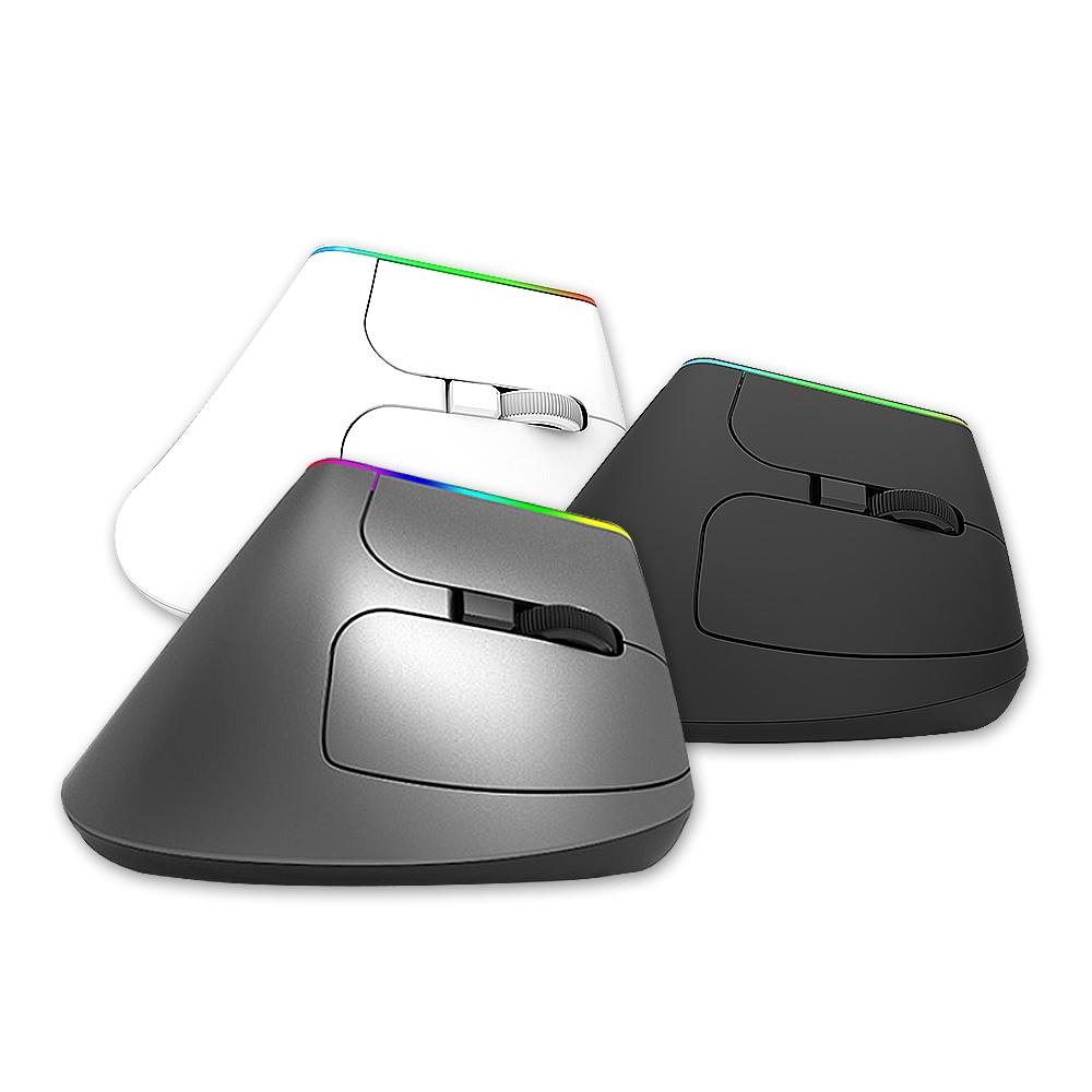 DeLUX M618DB 雙模無線垂直光學滑鼠