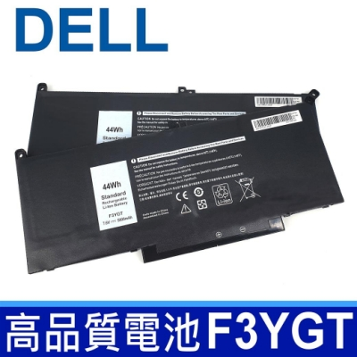 戴爾 DELL F3YGT 高品質 電池 2X39G DJ1J0 Latitude 13 7380 7390 E7380 E7390 Latitude 14 7480 7490 E7480 E7490