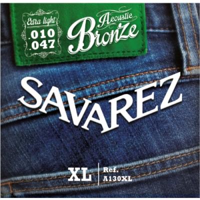 Savarez A130XL 黃銅民謠木吉他弦 10-47